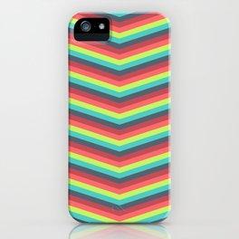 Jazzy Chevron iPhone Case