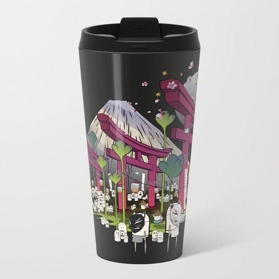 Fuji Scene Metal Travel Mug