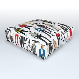 Beat IT Pattern Outdoor Floor Cushion