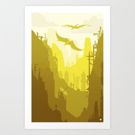 Nothing but rust Art Print