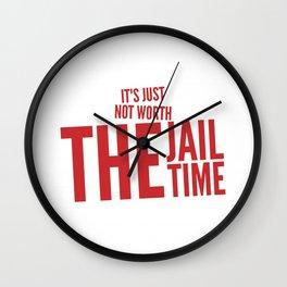 Not worth it Wall Clock