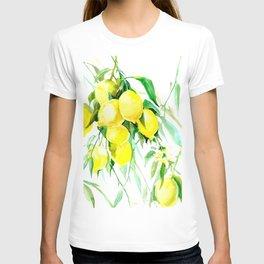 Lemon Tree kitchen decor art towel lemon T-shirt