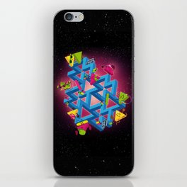 The impossible playground iPhone Skin