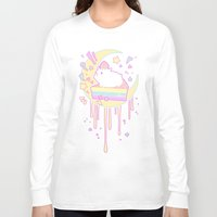 hamster Long Sleeve T-shirts featuring Sweet Hamster by AquaZircon (LumiiLoup)