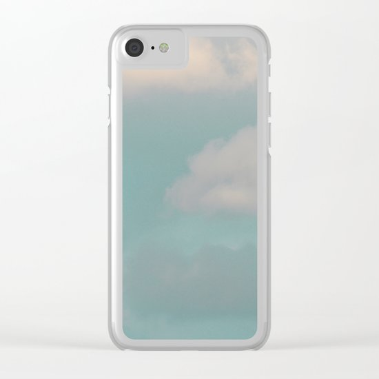 #133 Clear iPhone Case