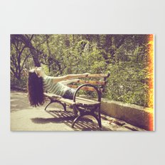 parallel II Canvas Print