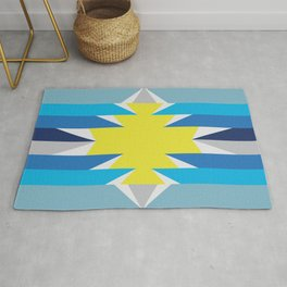 SUN_Yellow Star_Summer - Style Me Stripes Rug
