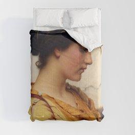 John William Godward - Sabinella Comforters