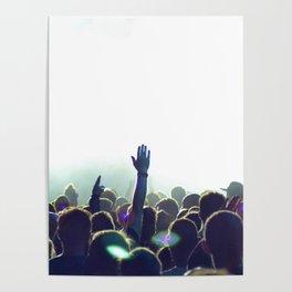 cncert crowd Poster