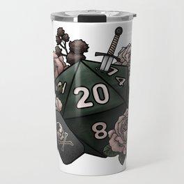Rogue Class D20 - Tabletop Gaming Dice Travel Mug