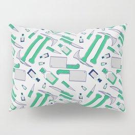 Murder pattern Green Pillow Sham
