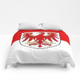 Flag of brandenburg Comforters