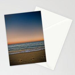 Barceloneta night Stationery Cards