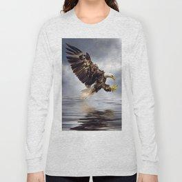 Bald Eagle swooping Long Sleeve T-shirt