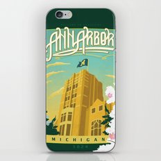 Ann Arbor Union iPhone & iPod Skin