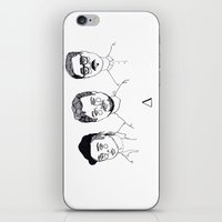 cactei iPhone & iPod Skins featuring ∆∆∆ by ☿ cactei ☿