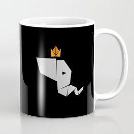 Elephant King Coffee Mug