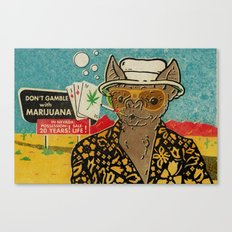 This is Bat Country Canvas Print