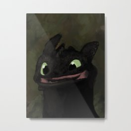 Toothless Grin Metal Print