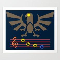 Bioshock Infinite: Song of the Songbird Art Print