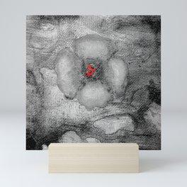 Grey Poppy S51 Mini Art Print