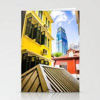 singapore Stationery Cards featuring Singapore by Jiunn