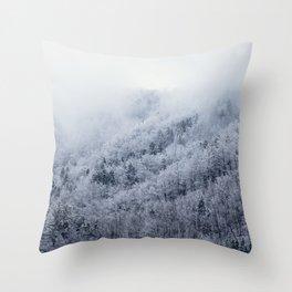 Winter Cometh Throw Pillow