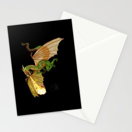 dragon_green   Stationery Cards