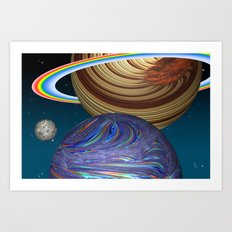 The Saturn Phenomenon Art Print