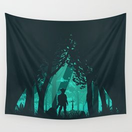 It's Dangerous To Go Alone Wall Tapestry