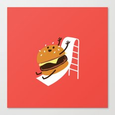 Slider Burger Canvas Print