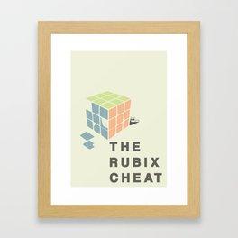 The Rubix Cheat Framed Art Print