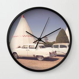 Sleep at the Wigwam Wall Clock