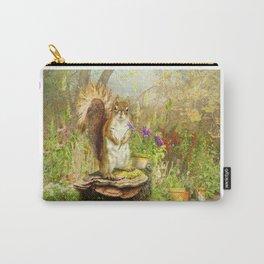 Garden Squirrel Carry-All Pouch