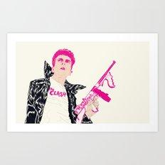 Strummer Art Print