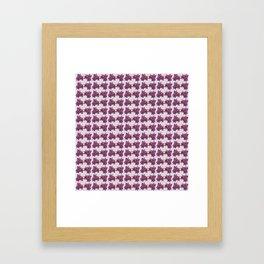 Belladonna Pattern I Framed Art Print