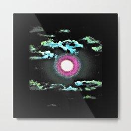 Moonphase One Metal Print