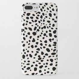 Polka Dots Dalmatian Spots iPhone Case