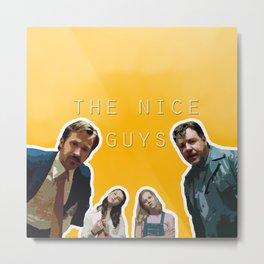 The Nice Guys 5  Metal Print