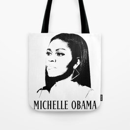 Beautiful Michelle Obama Tote Bag