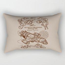 The Smuggler's Map Rectangular Pillow