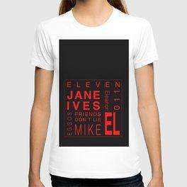 Eleven:Stranger Things - tvshow T-shirt
