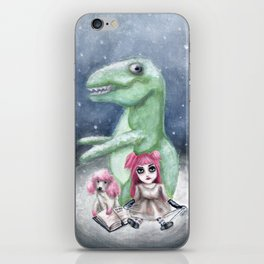 Kimmy and Rex iPhone Skin