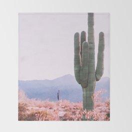 Warm Desert Throw Blanket