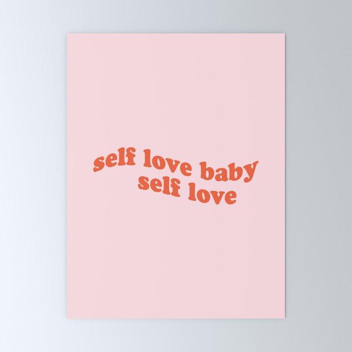 self love baby self love Mini Art Print