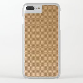 Nylon Stocking Mesh Grid Clear iPhone Case