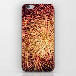 Art of the Fireworks iPhone Skin