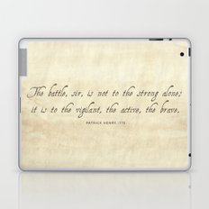 The Battle by Patrick Henry Laptop & iPad Skin