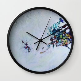 Fall starts Now Wall Clock