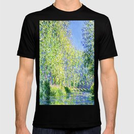 Monet: Bend in the River Epte T-shirt